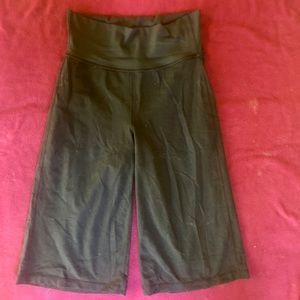 Lululemon black wide leg pants